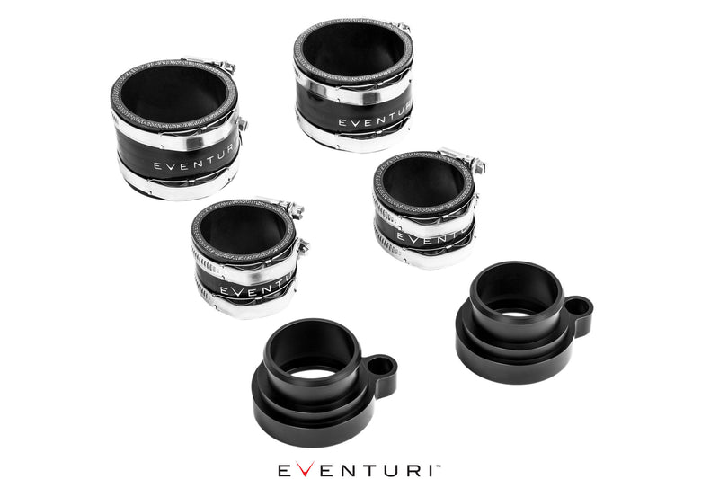 Eventuri S55 Carbon Charge Pipe Set