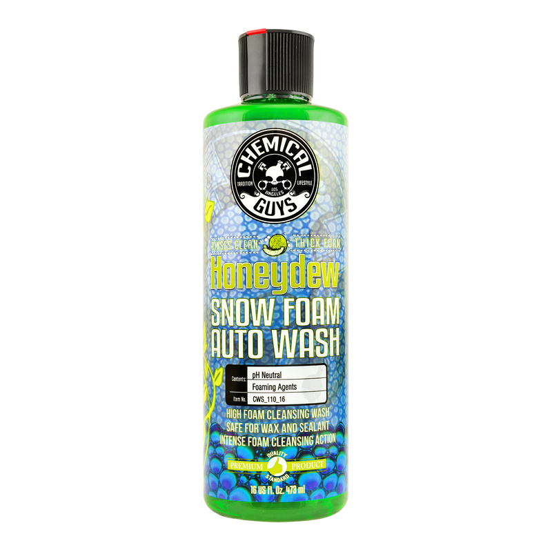 CHEMICAL GUYS HONEYDREW SNOW FOAM EXTREME SUDS CLEANSING WASH SHAMPOO