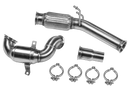 Leyo Motorsport Downpipe (200 cel cat) for MK7 GTI