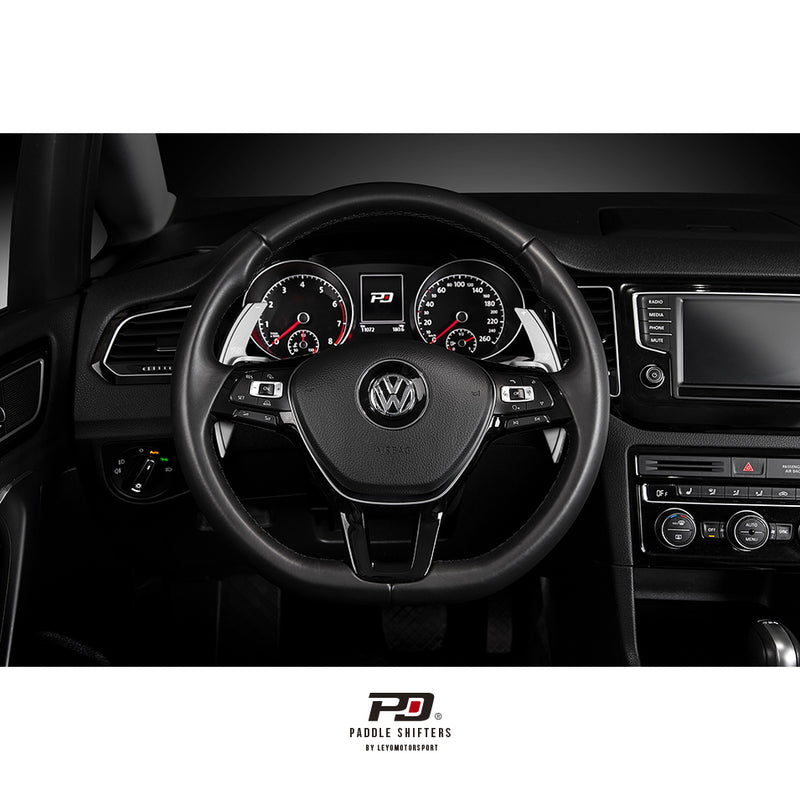 Leyo Motorsport Aluminium Paddle Shift Extensions for VW Sportline
