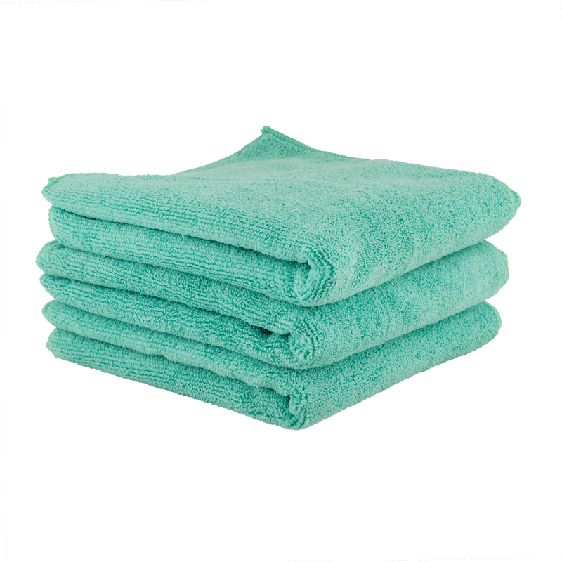 CHEMICAL GUYS WORKHORSE PROFESSIONAL GRADE MICROFIBER TOWEL 3 PACK