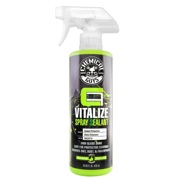 Chemical Guys Carbon Flex Vitalize Quick Detail Spray & Sealant Ceramic Coating Booster