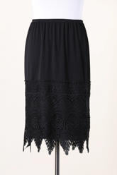 Slip Extender ~ Barbie ~ Available in Black and Navy