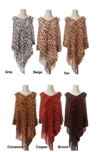 Poncho ~ Elizabeth ~ Available in Multiple Colors