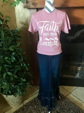 Graphic Tee ~ Faith Can Move Mountains
