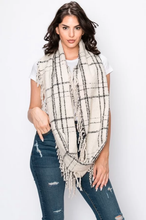 Plaid Infinity Scarf ~ Janie ~ Available in Multiple Colors