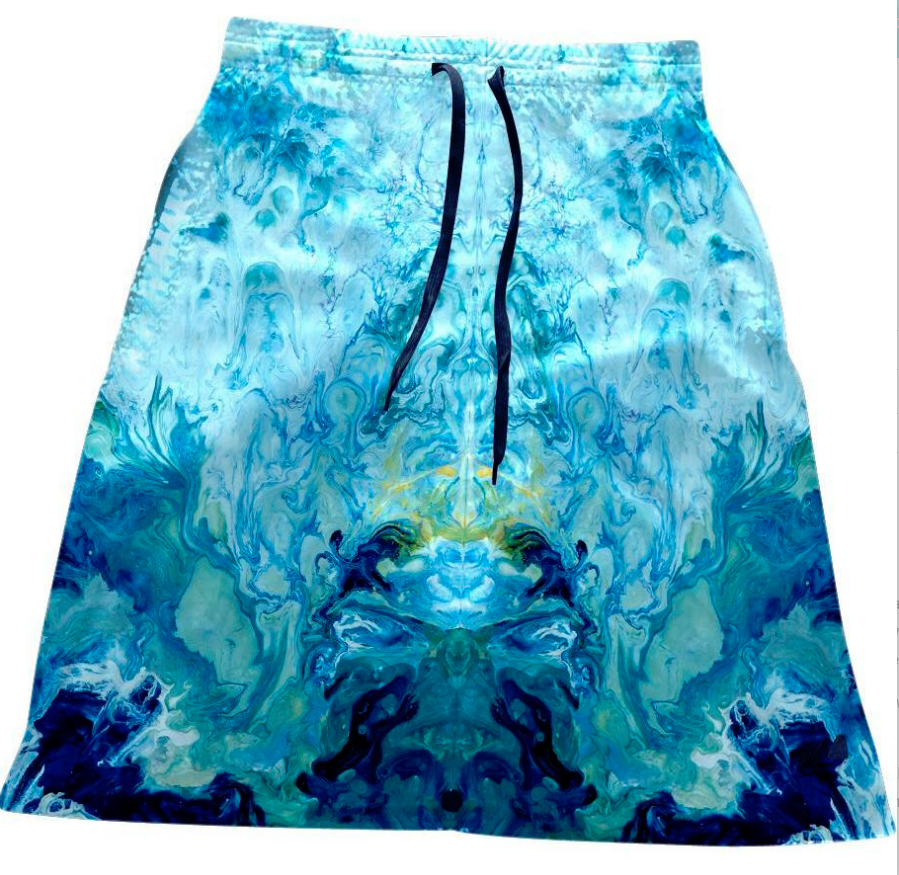 Plus Sport Skirt ~ Juniper Breeze