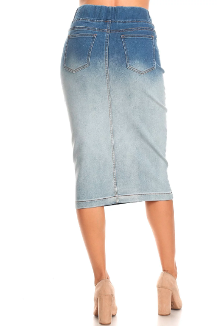Denim Skirt ~ Nina