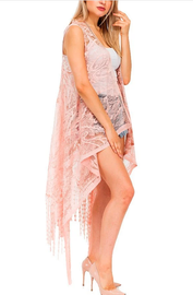 Long Lace Vest ~ Sue