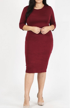 Layering Dress ~ Jamie ~ Available in Black, Burgundy, Navy, Olive and Red