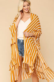 Long Kimono ~ Marie ~ Available in Mustard and Sage