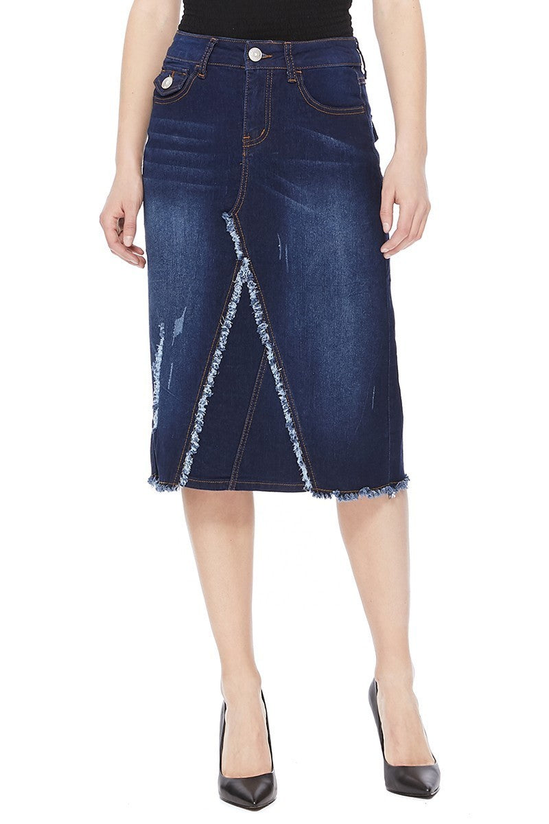 Denim Skirt ~ Ashley