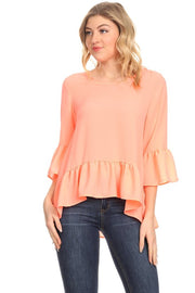 Top ~ Mia ~ Available in Neon Orange and Neon Pink