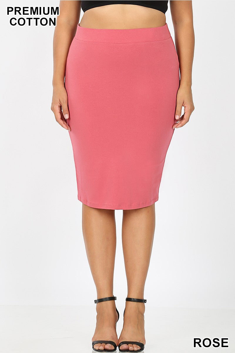 Pencil Skirt ~ Leah ~ Multiple Colors
