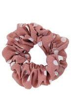 Polka Dot Hair Scrunchie ~ Dottie ~ Available in Multiple Colors