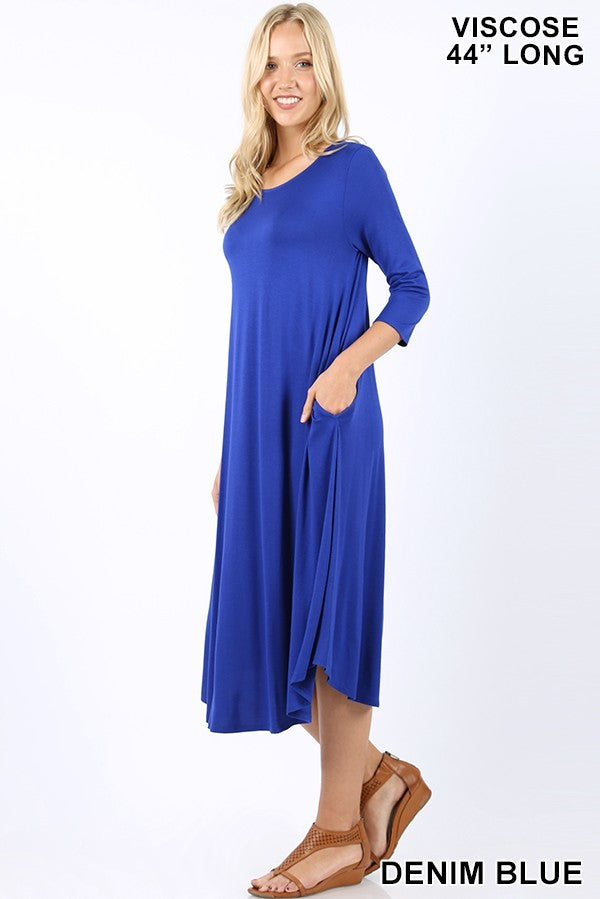Dress ~ Diana ~ Available in Multiple Colors