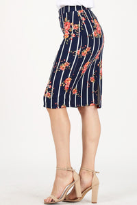 Plus Pencil Skirt ~ Myra