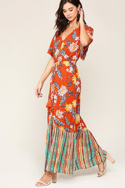 Maxi Dress ~ Sue ~ Available in Seafoam and Tangerine