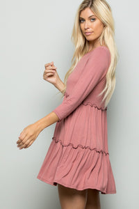 Tunic ~ Darla ~ Available in Black and Mauve