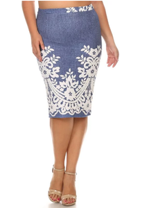 Pencil Skirt ~ Judith  ~ Just 2 Left!!  Size Small