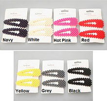 Hair Clip Set ~ Lee ~ Available in Multiple Colors
