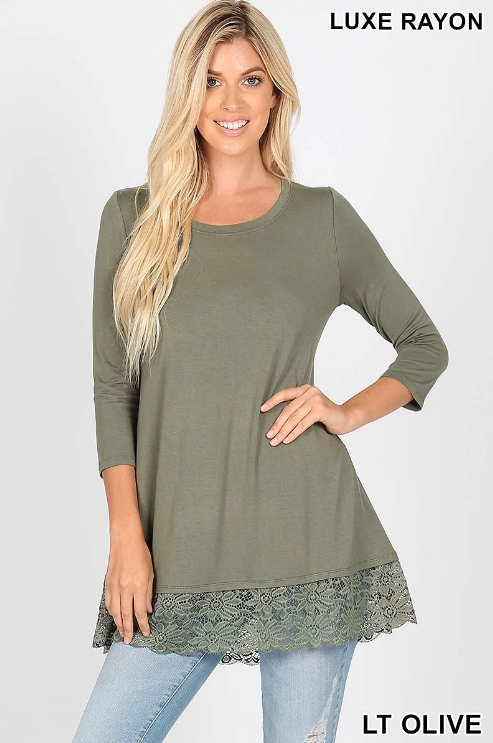 Top ~ Lana ~ Available in Multiple Colors