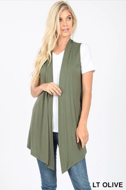 Vest ~ Julie ~ Available in Multiple Colors
