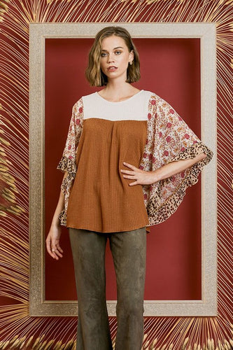 Top ~ Whitney ~ Available in Camel and Charcoal *** HUGE SALE ***