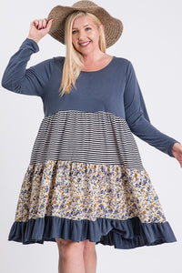 Plus Tunic ~ Joanna ~ Available in Navy, Olive and Rust *** HUGE SALE ***