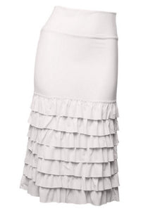Plus Long Ruffled Skirt Extender ~ Lola
