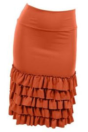 Ruffled Skirt Extender - Lily ~ Available in Multiple Colors
