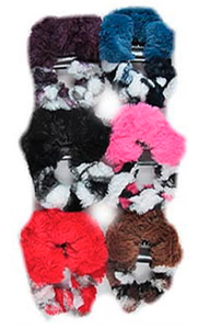 Hair Scrunchie Set ~ Crystal ~ Available in Multiple Colors