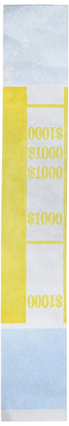 PM Company Currency Bands, 1000.00, Pack Of 1000 (2-Pack)