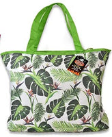 Insulated Picnic Tote Bag with Strap, 19.25 in x 13 in (Leaf)