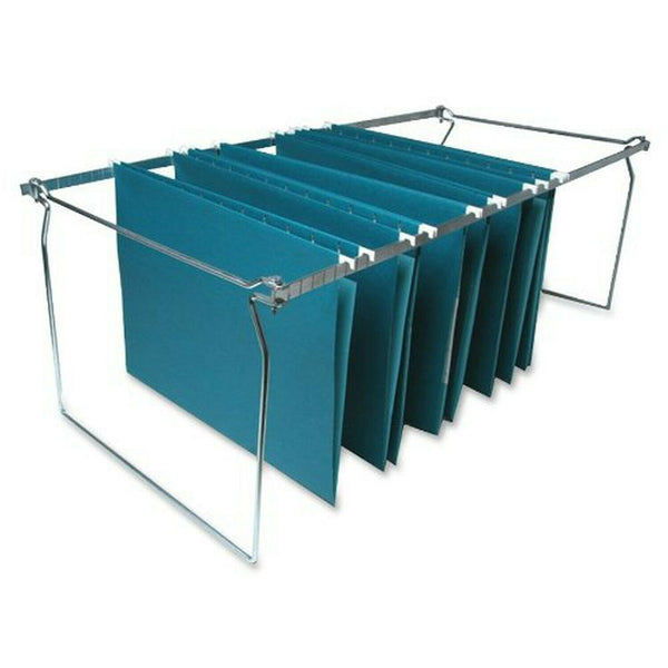 Sparco Products SP36 Hanging File Folder Frames, Legal, 6/BX, Stainless Steel