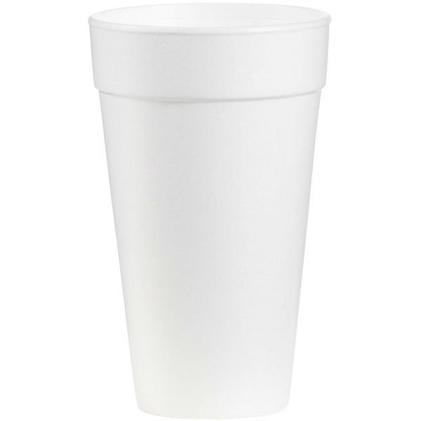 Dart 20J16 Foam Drink Cups, 20oz (Case of 500)