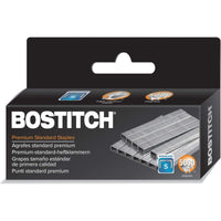 "Bostitch, 1901, Premium Standard Staples, 0.25"" Leg, 0.5"" Crown, Steel, 5,000..."