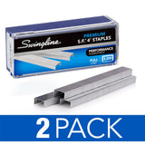 "Swingline Staples, S.F. 4, Premium, 1/4"" Length, 210/Strip, 5000/Box, 2 Pack (35450AZ) - S7035450AZ"
