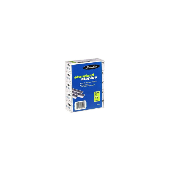 Swingline SF1 Standard Staples (5,000 per box) - Pack of 2