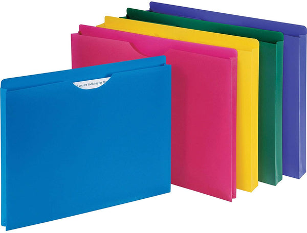 Business Source File Jacket, Assorted (44435), 10 Pack