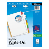 Avery Big Tab Write-On Dividers, 8-Tabs, 12 Sets