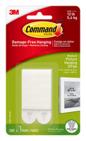 Command 12 lb Picture Hanging Strips, Medium, 6-packages (24 pairs total) (17...