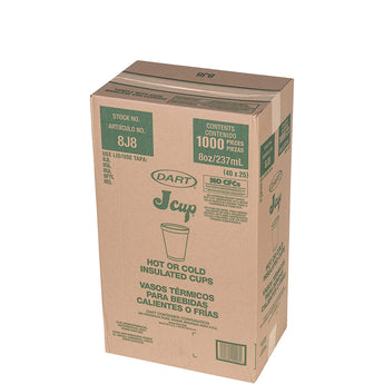 Drink Foam Cups, 25/Bag, 40 Bags/Carton