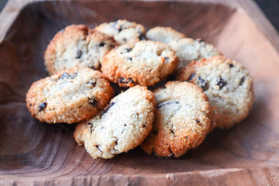 Keto Chewy Chocolate Chip Macaroons
