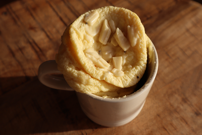 Keto Golden Hour Mug Cake