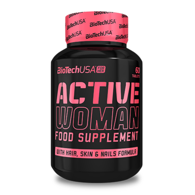 BioTechUSA Active Woman - 60 tabletta - biotech.shop.hu