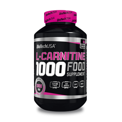 L - Carnitine 1000 mg 60 tabletta - biotech.shop.hu