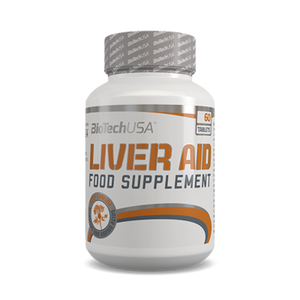 Liver Aid 60 tabletta - biotech.shop.hu