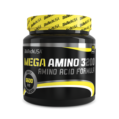 Mega Amino 3200 - 300 tabletta - biotech.shop.hu