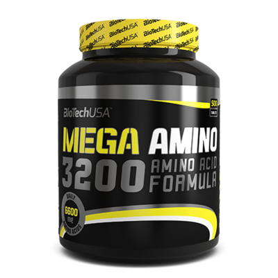 Mega Amino 3200 - 500 tabletta - biotech.shop.hu
